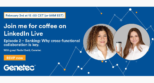 Coffee with Eve: [Banking] Why cross-functional collaboration is key | February 3, 2021
