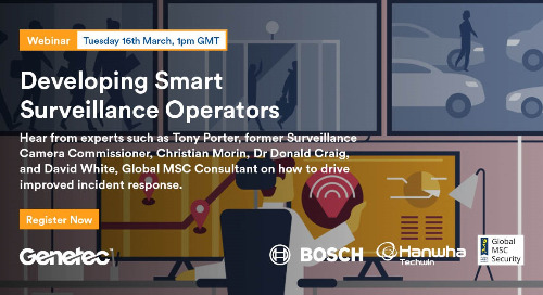 Global MSC - Developing Smart Surveillance Operators | March 16, 2021