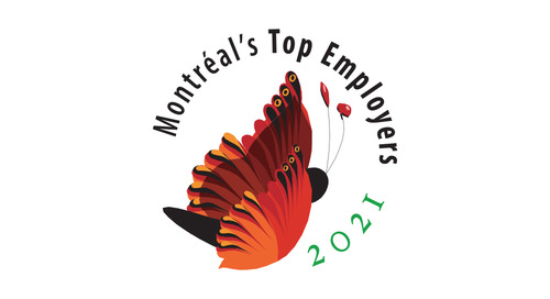 Top employer in Montreal for 2021