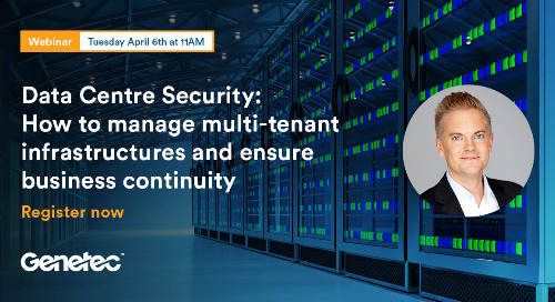 [Webinar Nordics] Data Centre Security: How to manage multi-tenant infrastructures and ensure business continuity | April 6, 2021