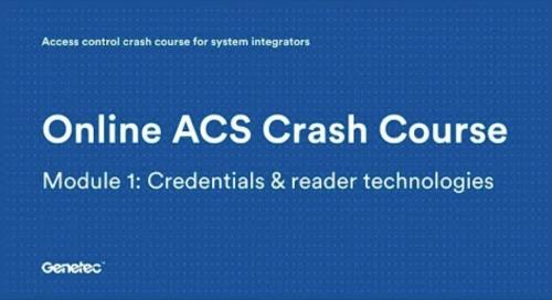 Module 1: Credentials & reader technologies (Video)