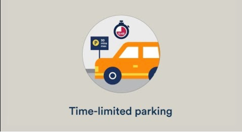 Increase parking enforcement efficiency in time-limited zones