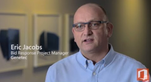 Office 365 centralized deployment enables Qorus solutions at Genetec