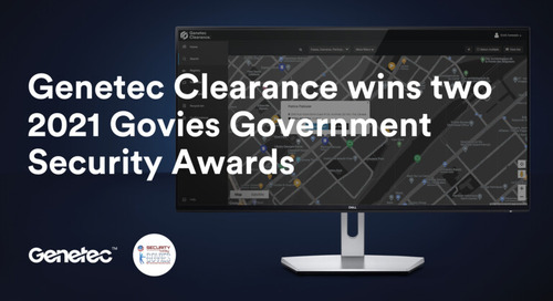 The 2021 Govies Government Security Awards - Winner