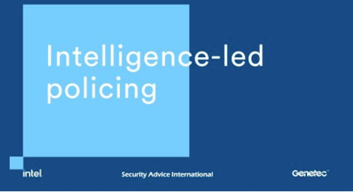 Long term vision for law enforcement: leveraging the latest technologies for intelligence led policing