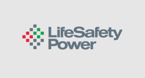 Synergis systèmes de gestion de l'alimentation LifeSafety