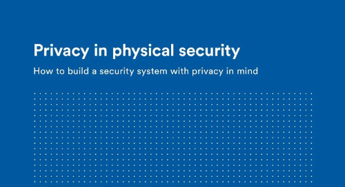 Privacy in physical security