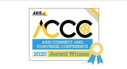 2020 Axis Application Development Partner of the Year - Winner