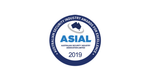 2019 Australian Security Industry Awards for Excellence - Winner