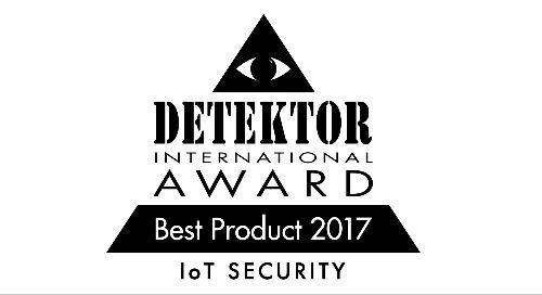 Prix Detektor International 2017 - Lauréat