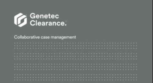 Digital evidence management systems Genetec Clearance™