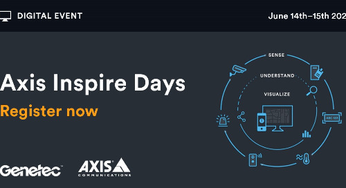 Axis Inspire Days   June 14 - 15, 2021