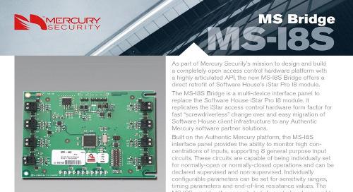 Mercury MS-I8S Bridge multi-device interface panel