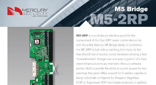 Mercury M5-2RP multi-device interface panel