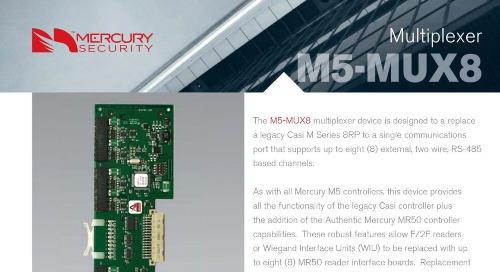 Mercury M5-MUX8 multiplexer device