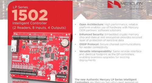 Mercury EP1502 intelligent controller