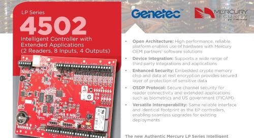 Mercury  LP4502 intelligent controller