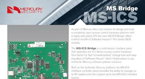 Mercury MS-ICS Bridge multi-device interface panel