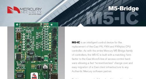 Mercury M5-IC is an intelligent control device
