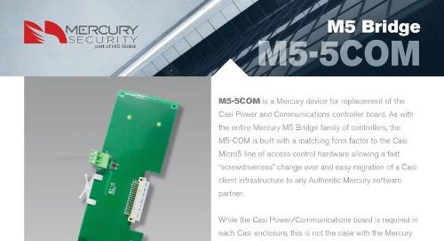 Mercury M5-5COM