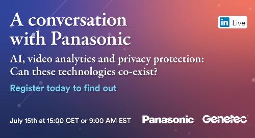 LinkedIn Live with Panasonic | July 13, 2021
