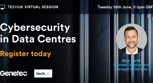 [Webinar] TechUK – Cybersecurity in Data Centres    June 29, 2021