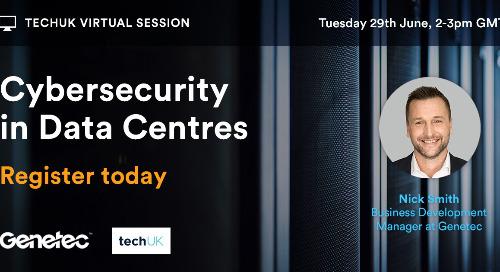 [Webinar] TechUK – Cybersecurity in Data Centres  | June 29, 2021