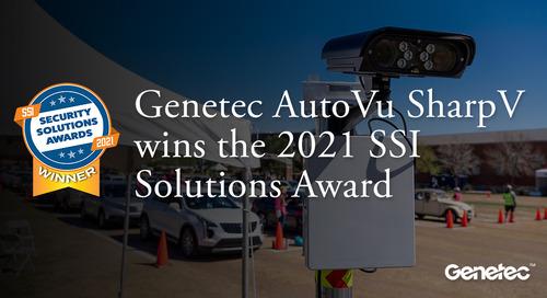 The 2021 SSI Solutions Award - Winner