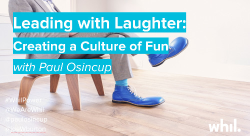 Webcast: Leading with Laughter (ft. Paul Osincup)