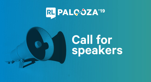 5 Tips to Become a Speaker at RL Palooza 2019