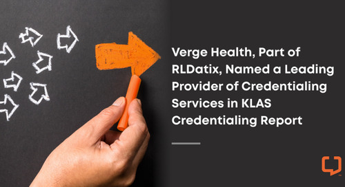 Press Release: A Leading Provider of Credentialing Services in KLAS Credentialing Report