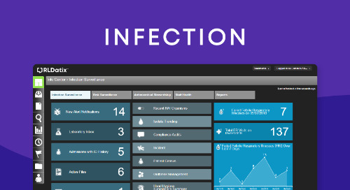 A comprehensive surveillance solution for healthcare infection prevention and control