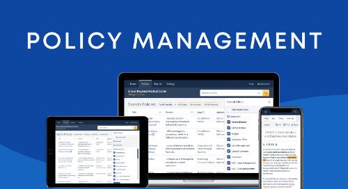 RLDatix Policy Management