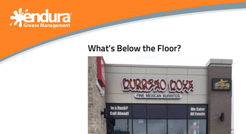 What's Below the Floor? Burrito Boyz Mexican Restaurant