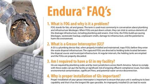 Endura FAQ's
