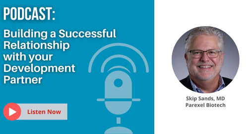 Pharma Talk Radio: Building a Successful Relationship with your Development Partner