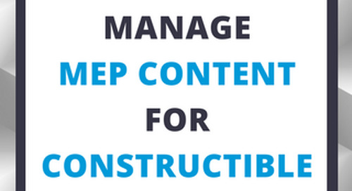 How to Manage MEP Content for Constructible Models