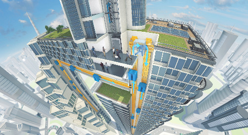 New Horizontal Elevator Will Make You Rethink Megacity Construction