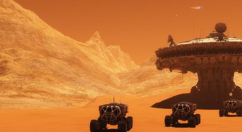 Kunnen we bouwen op Mars?
