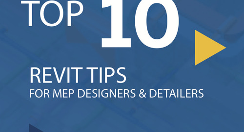 Top 10 Revit Tips for MEP Designers and Detailers