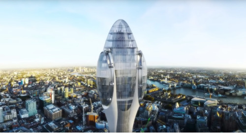 New Skyscraper 'The Tulip' Is Blooming Over London
