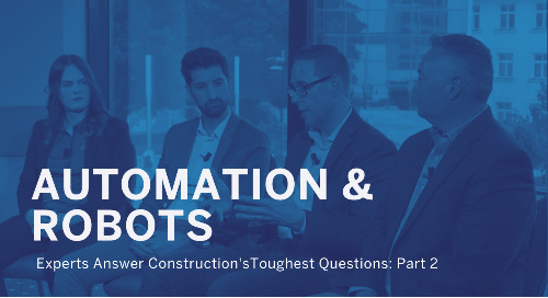 Are Robots and Automation Taking Construction Jobs?