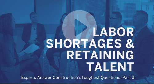 How Can Construction Solve the Labor Shortage and Retain Talent?