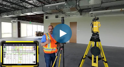How to Create a One-Man Layout Workflow with a Robotic Total Station