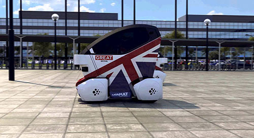 Driverless cars in Milton Keynes