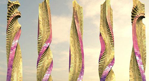 Rotating Skyscraper in Dubai Must Have BIM
