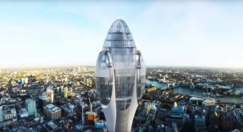 Londen in bloei met nieuwe wolkenkrabber 'De Tulp'