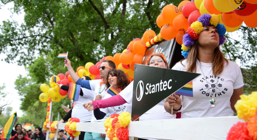 Stantec proud to take part in Edmonton's Pride Parade