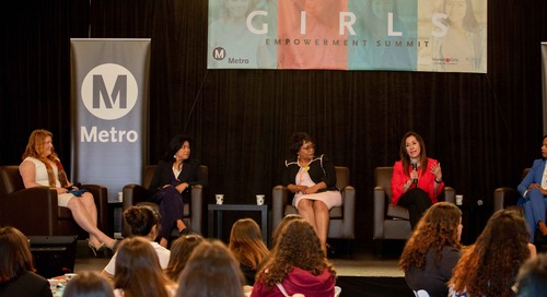 Stantec proudly supports the Metro Los Angeles Girls Empowerment Summit