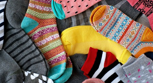 Stantec's North American Holiday sock donation initiative